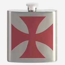 Templar Cross Flask