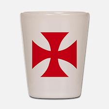 Templar Cross Shot Glass