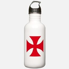 Templar Cross Water Bottle