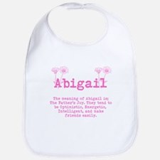 The meaning of Abigail Bib