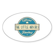 Official The Little Rascals Fanboy Oval Decal