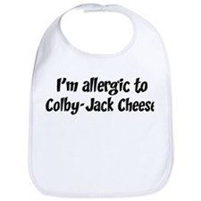 Allergic to Colby-Jack Cheese Bib