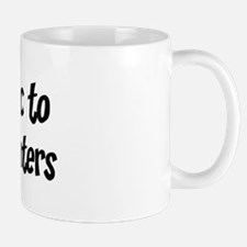Allergic to Meat And Taters Mug