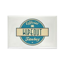 Official Wipeout Fanboy Rectangle Magnet