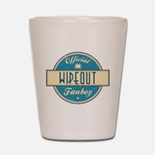 Official Wipeout Fanboy Shot Glass