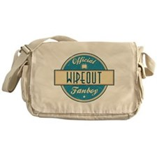 Official Wipeout Fanboy Canvas Messenger Bag