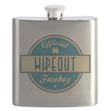 Official Wipeout Fanboy Flask
