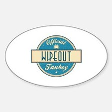 Official Wipeout Fanboy Oval Decal