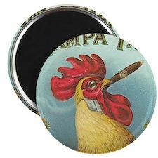Vintage Rooster Cigar Label Magnet