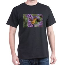Monarch on Butterfly Bush T-Shirt
