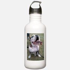 English bulldog at a sporting event Water Bottle