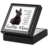 Scottie Square Keepsake Boxes