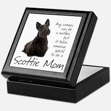 Scottie Mom Keepsake Box