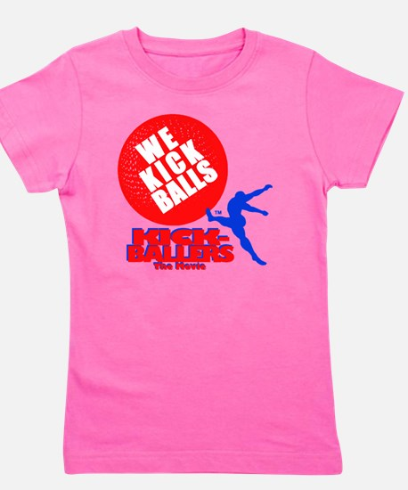 WE KICK BALLS! Girl's Tee