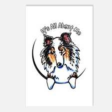 Blue Merle Sheltie IAAM Postcards (Package of 8)