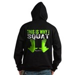 THIS IS WHY I SQUAT - LIME Hoodie