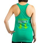 THIS IS WHY I SQUAT - LIME Racerback Tank Top