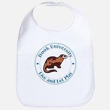 Ferret Baby Bib: Dook University
