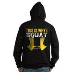 THIS IS WHY I SQUAT - YELLOW Hoodie