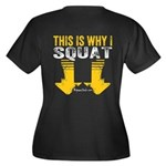 THIS IS WHY I SQUAT - YELLOW Plus Size T-Shirt