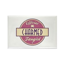 Official Charmed Fangirl Rectangle Magnet