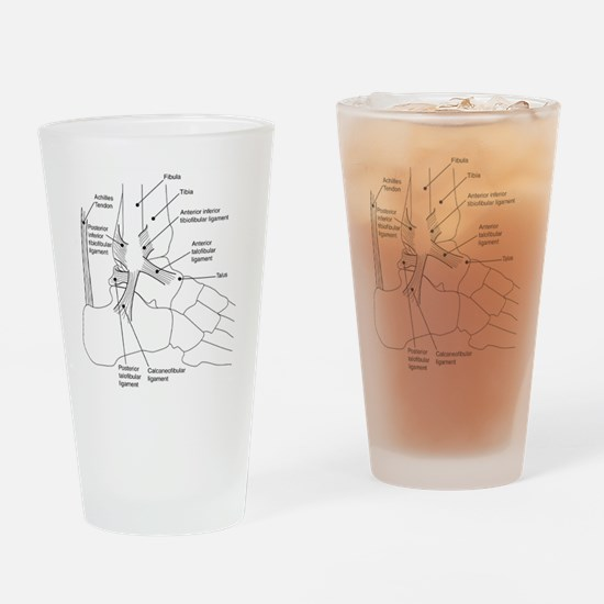 dr Ankle large Drinking Glass