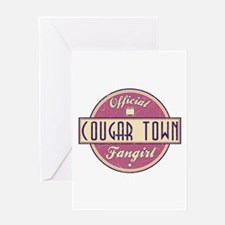 Official Cougar Town Fangirl Greeting Card