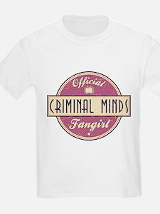Official Criminal Minds Fangirl T-Shirt
