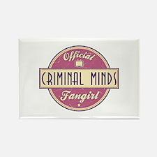 Official Criminal Minds Fangirl Rectangle Magnet