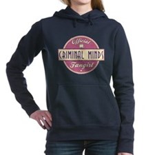 Official Criminal Minds Fangirl Woman's Hooded Swe