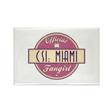 Official CSI: Miami Fangirl Rectangle Magnet