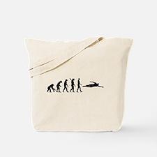 Swimming evolution Tote Bag