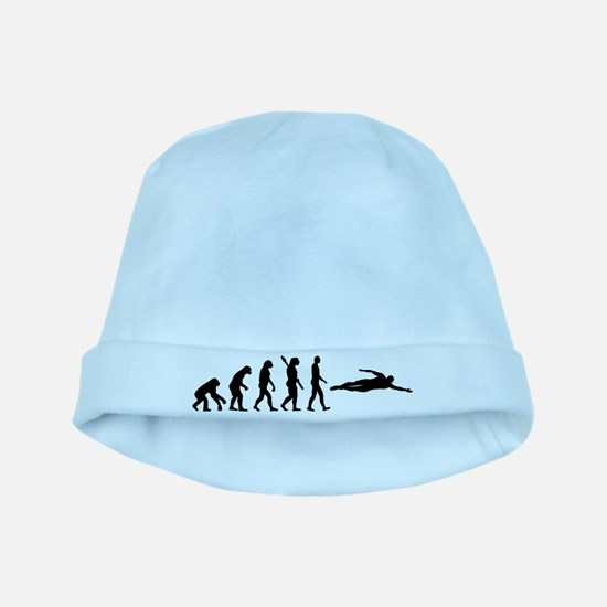 Swimming evolution baby hat
