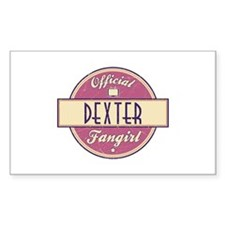 Official Dexter Fangirl Rectangle Decal