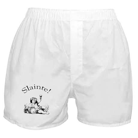 Irish Toast Wine Boxer Shorts
