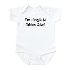 Allergic to Chicken Salad Infant Bodysuit
