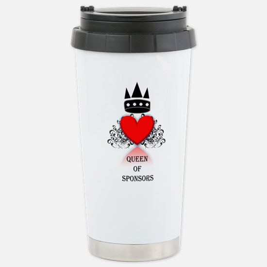 Queen Of Sponsors Travel Mug