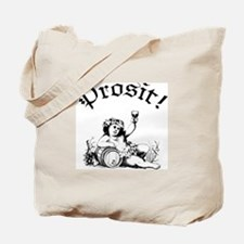 German Toast Wine Tote Bag