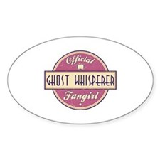 Official Ghost Whisperer Fangirl Oval Decal
