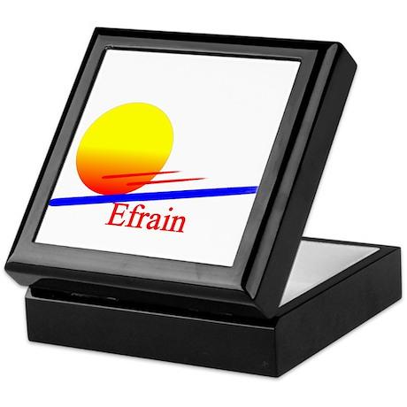 Efrain Keepsake Box
