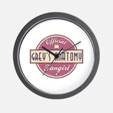 Official Grey's Anatomy Fangirl Wall Clock