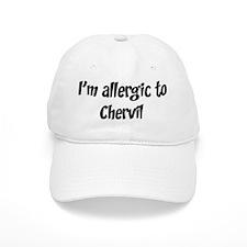 Allergic to Chervil Baseball Cap