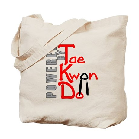 Powered by Tae Kwon Do Tote Bag