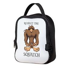 RESPECT THE SQUATCH Neoprene Lunch Bag
