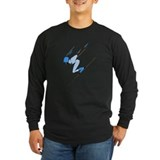 Downhill ski racing Long Sleeve Dark T-Shirts