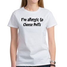 Allergic to Cheese Puffs Tee