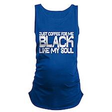 Black Maternity Tank Top