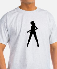 Dominatrix Silhouette T-Shirt