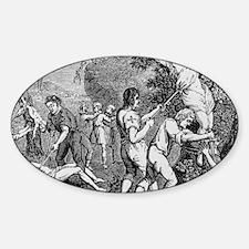Massacre in Calabria Sticker (Oval)
