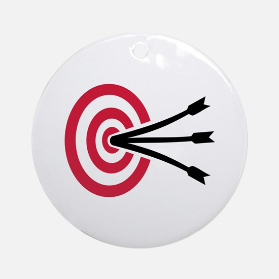 Archery target Ornament (Round)